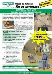 Tables & surfaces KiT de neTToyage - Unger