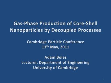 Gas-Phase Production of Core-Shell Nanoparticles by Decoupled ...