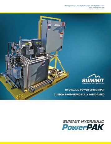 view brochures - Summit Valve & Controls