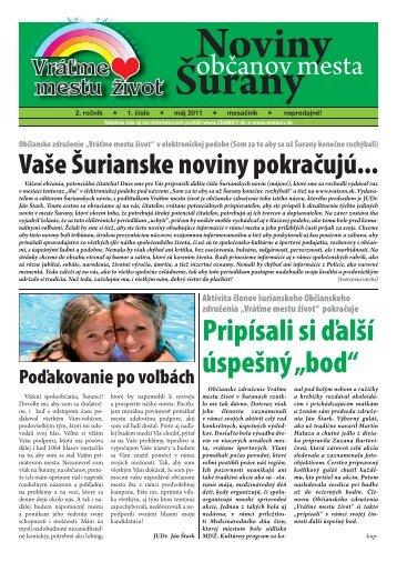Vráťme mestu život - izamky.sk