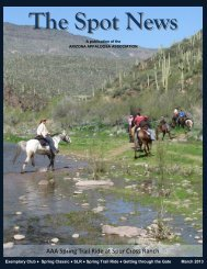 AAA Spring Trail Ride at Spur Cross Ranch - Arizona Appaloosa ...