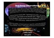Dark Energy - rencontres de blois - IN2P3
