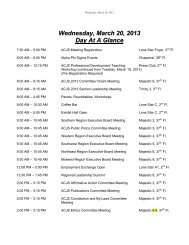 Wednesday, March 20, 2013 - Academy of Criminal Justice Sciences