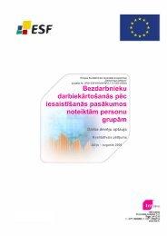 kvalitatīvais pētījums - Nodarbinātības Valsts Aģentūra