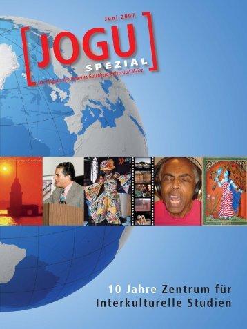 JOGU Spezial - Zentrum für Interkulturelle Studien - Johannes ...