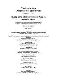Átalakulási tájékoztató ... - Budapest Bank