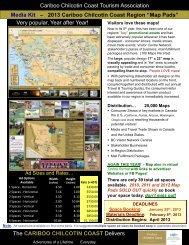 View Media Kit - Cariboo Chilcotin Coast Tourism Association