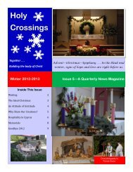 Issue 5—A Quarterly News Magazine Winter 2012-2013