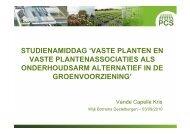 studienamiddag 'vaste planten en vaste plantenassociaties als - PCS