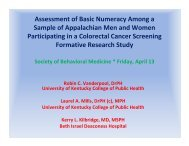Assessment of Basic Numeracy Skills Among a Sample of ...