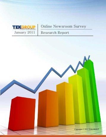 Online Newsroom Survey - Reynolds Center for Business Journalism