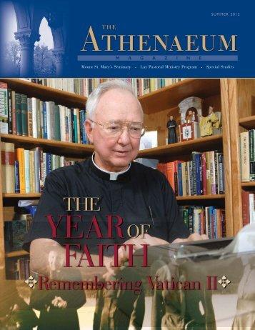Athenaeum Magazine Summer 2012 - The Athenaeum Of Ohio