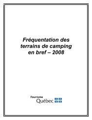 Format pdf, 235 Ko - Tourisme Québec