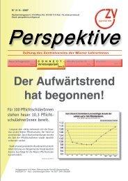 Perspektive - Zentralverein der Wiener Lehrerschaft