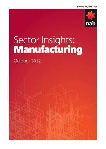 Manufacturing sector insights October 2012 - Business Research ...