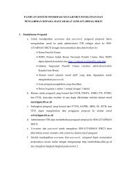 Panduan Usul Penelitian 2013 - Lembaga Penelitian dan ...