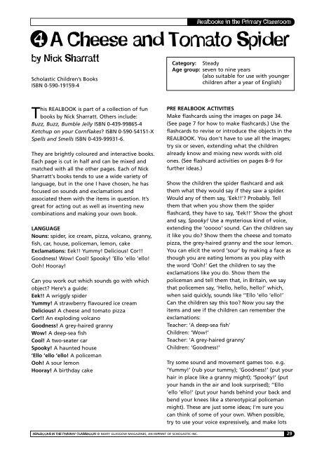 Realbooks 2 - Scholastic