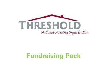 Fundraising Pack - Threshold