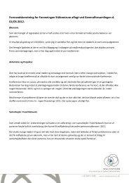 Formandsberetning for Foreneingen Stålcentrum aflagt ved ...