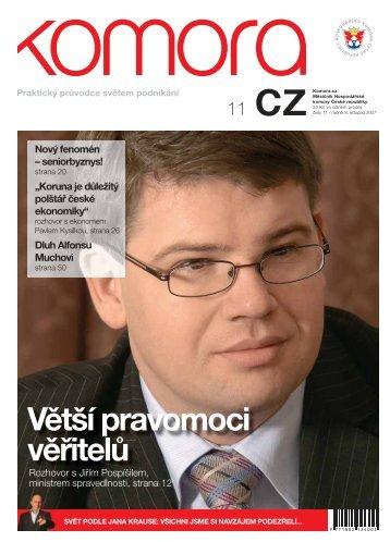 Větší pravomoci věřitelů - Hospodářská komora České republiky