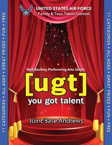 """annual you got talent (""""ugt"""")"""