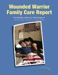 Report-Wounded Warrior Family Care Report from Quality of Life ...