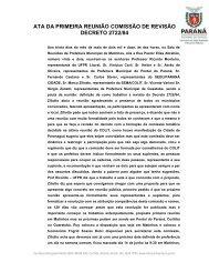 ATA DA PRIMEIRA REUNIÃO COMISSÃO DE REVISÃO ... - COLIT