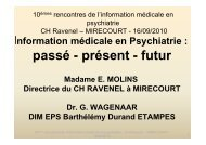 2_Mr le Dr WAGENAAR Passé -présent-futur - Département d ...