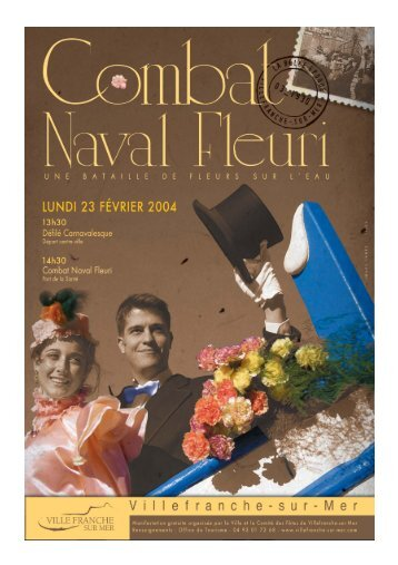 dossier de presse combat naval fleuri 2004.qxd - Villefranche-sur-Mer