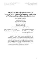 Integration of Geographic Information Systems (GIS) to ... - EISRJC
