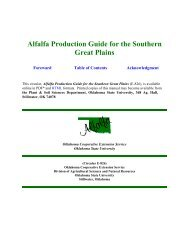 Alfalfa Production Guide for the Southern Great Plains - Texas A&M ...