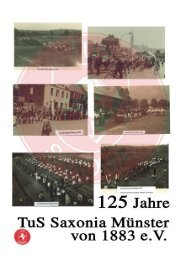 125 Jahre TuS Saxonia Münster von 1883 e. V.