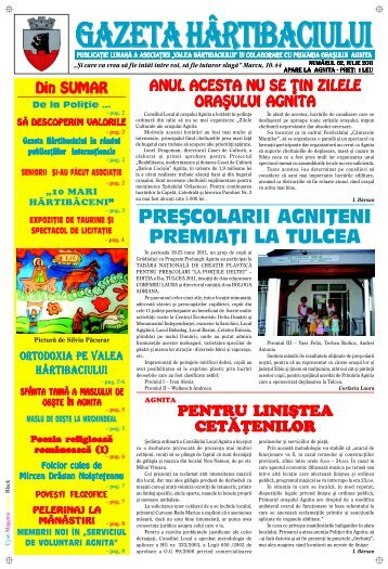 Gazeta Hartibaciului ianuarie 2009 - Agnita