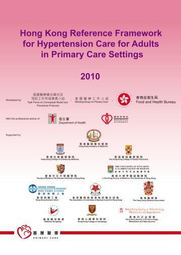 2010 Hong Kong Reference Framework for Hypertension Care for ...