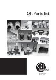 QL Parts list