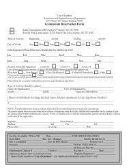 Gymnasium Reservation Request Form - the City of Gardena