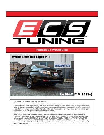 White Line Tail Light Kit for BMW F10 (2011+)