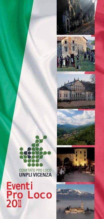 Eventi Pro Loco 2011 - UNPLI Veneto
