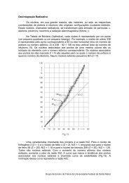 Desintegração Radioativa - UFSM