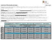Horaire et coût de cette activité (.PDF) - Peps