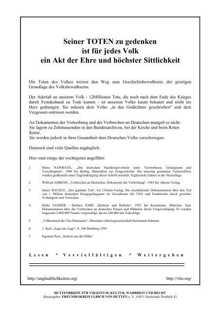 Deutsche Opfer 2. Weltkrieg German Victims