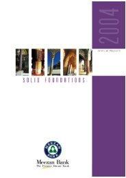 Annual Report 2004 - Meezan Bank