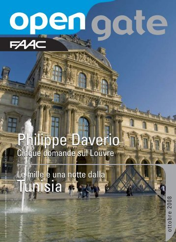 Tunisia Philippe Daverio - Faac