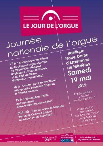 """"""" Jour de l'Orgue """" (Mézières 2012) - ovh.net"""
