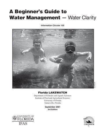 A Beginner's Guide to Water Management — Water Clarity - Florida ...