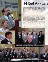 Summer Journal 2006.qxp - Massachusetts Dental Society