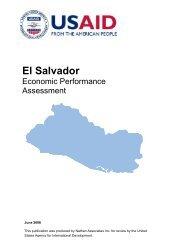 El Salvador Economic Performance Assessment - Economic Growth ...