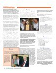 Methodist College AnnuAl RepoRt 2005 - Methodist University - Page 6