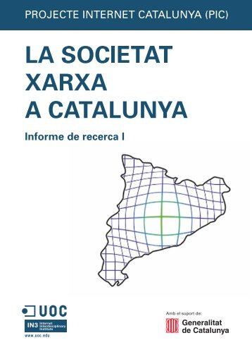 La societat xarxa a Catalunya