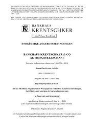 EAB Bonus Plus Protect Anleihe - Bankhaus Krentschker & Co ...